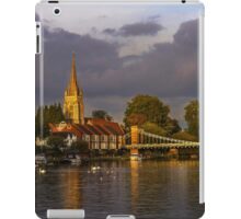 The River Thames At Marlow  iPad Case/Skin