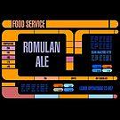 Captains Drink Romulan Ale  by simonbreeze