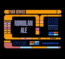 Captains Drink Romulan Ale  by simonbreeze