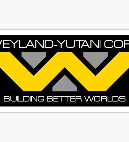 WEYLAND YUTANI ALIEN (2) Sticker