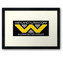 WEYLAND YUTANI ALIEN (2) Framed Print