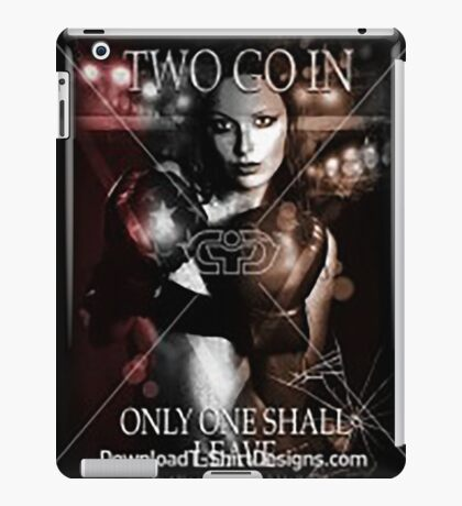 one shall fall iPad Case/Skin