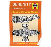 Haynes Manual - Serenity - Poster & stickers Poster