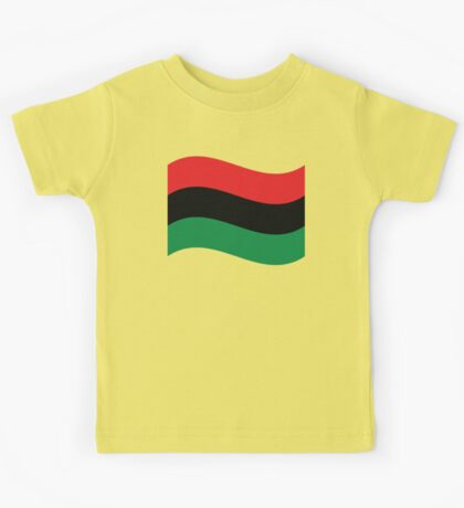 Red, Black & Green Flag Kids Tee