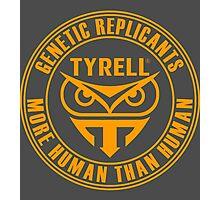 TYRELL CORPORATION - BLADE RUNNER (YELLOW) Photographic Print