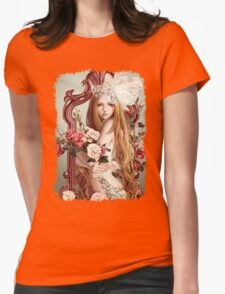 The Flowers Mirror Womens Fitted T-Shirt