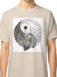 Owl Yin Yang Classic T-Shirt