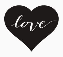 Love Heart One Piece - Short Sleeve