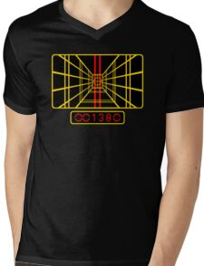 STAR WARS DROP THE BOMB X-WING Mens V-Neck T-Shirt