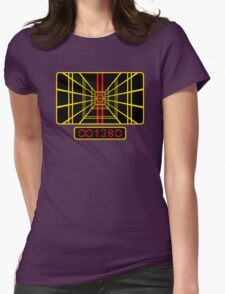 STAR WARS DROP THE BOMB X-WING Womens Fitted T-Shirt