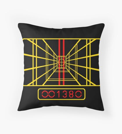 STAR WARS DROP THE BOMB X-WING Throw Pillow