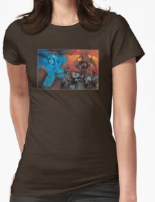 Altered Beast Retro Game Womens Fitted T-Shirt