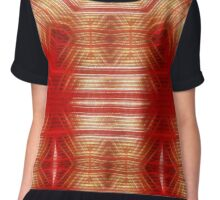 Red Matrix Chiffon Top