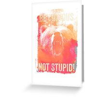 Be Curious Greeting Card