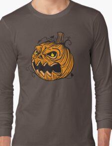Pumpkin head Long Sleeve T-Shirt