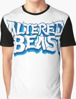 Altered Beast Logo retro 16bit Graphic T-Shirt