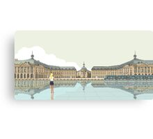 plAce de la bOurse Canvas Print