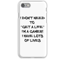 I have lots of lives iPhone Case/Skin