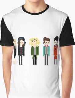 Pixel Sestras - 5 - Horizontal Graphic T-Shirt