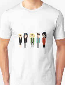 Pixel Sestras - 5 - Horizontal Unisex T-Shirt