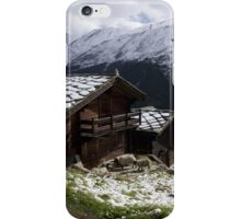 chalet iPhone Case/Skin