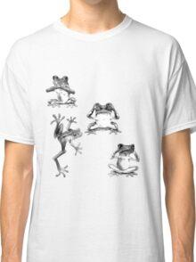 Fun Frogs See no evil, Speak no evil, Hear no evil Classic T-Shirt