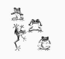 Fun Frogs See no evil, Speak no evil, Hear no evil Unisex T-Shirt