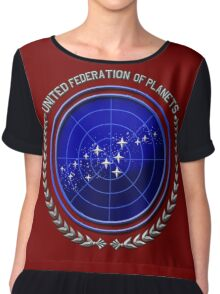 United Federation of Planets Chiffon Top
