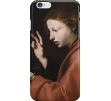 Jusepe de Ribera, gen. lo Spagnaletto, Portrait of a Young Man iPhone Case/Skin