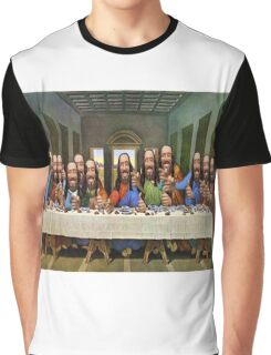 Buddy Jesus- Last Supper Graphic T-Shirt