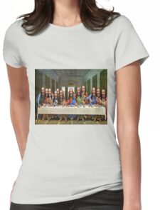 Buddy Jesus- Last Supper Womens Fitted T-Shirt