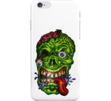 Zombie Skull Brains iPhone Case/Skin