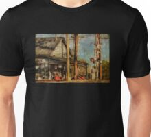 Train's Coming - Berryville Farm Supply Unisex T-Shirt