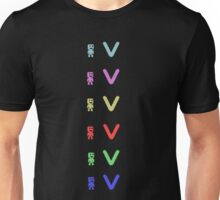 VVVVV crew members t-shirt(other products included) Unisex T-Shirt