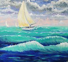 Windy Sail by L.W. Turek