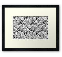 Linework Botanical Framed Print