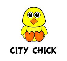 City Chick Photographic Print