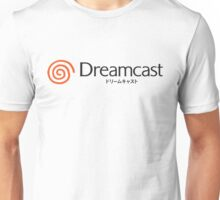 Dreamcast Logo Japanese Version Unisex T-Shirt