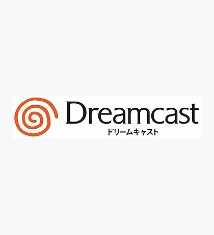 Dreamcast Logo Japanese Version Photographic Print