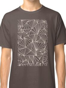 Ab Fan Grey And Nude Classic T-Shirt