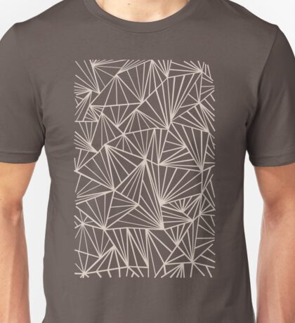 Ab Fan Grey And Nude Unisex T-Shirt