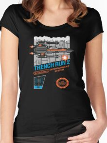 Trench Run 2 Women's Fitted Scoop T-Shirt