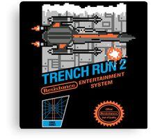 Trench Run 2 Canvas Print