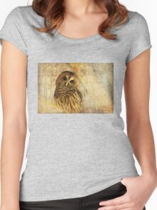 Here's Lookin' At You, Kid! Women's Fitted Scoop T-Shirt