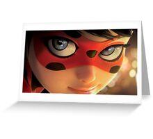 Ladybug Close Up Greeting Card