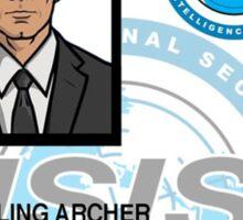 'Duchess' Sterling Archer ID Sticker
