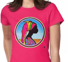 SOL SEBA: SEEKING SALVATION Womens Fitted T-Shirt