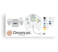 Dreamcast Japanese Controller Canvas Print