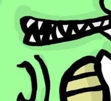 A Happy Little Alligator Sticker
