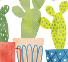 cacti party Sticker